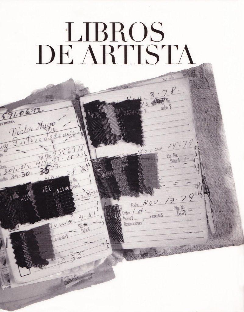 (Coperta monografiei Ulises Carrión y libros de artista de Martha Hellion, 2004)