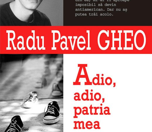 Adio, adio, patria mea cu î din i, cu â din a, de Radu Pavel Gheo, fragment tradus în spaniolă / Adiós, patria querida