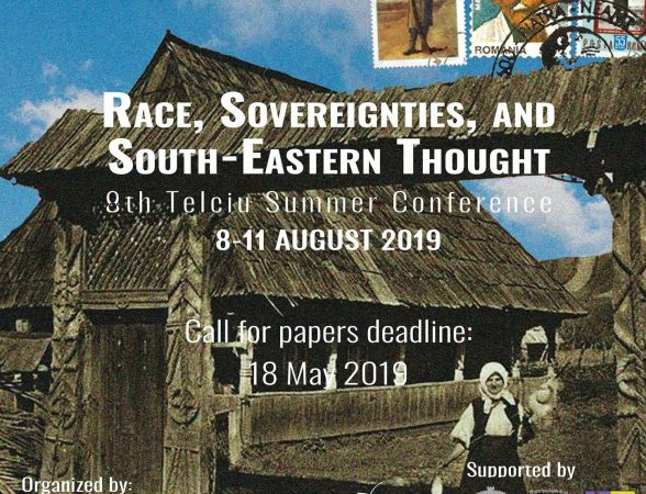 8th Edition, 2019: Race, Sovereignties, and South-Eastern Thought