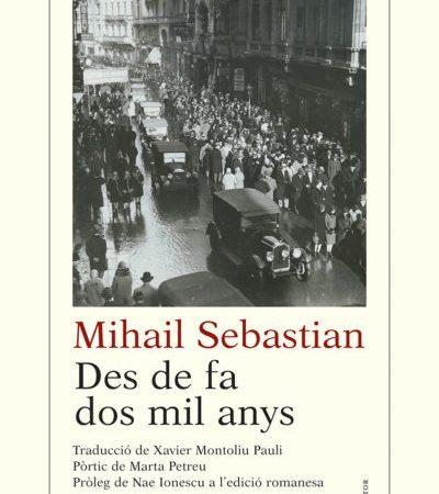 Marta Petreu: Sebastian și avatarurile lui politice și romanești