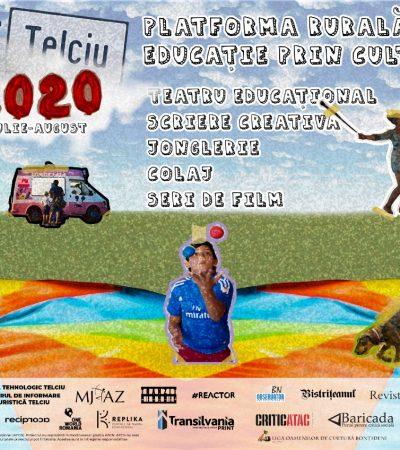 Telciu 2020. Platformă rurală de educație prin cultură